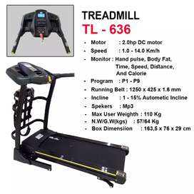 Treadmill  Elektrik  636 speed running