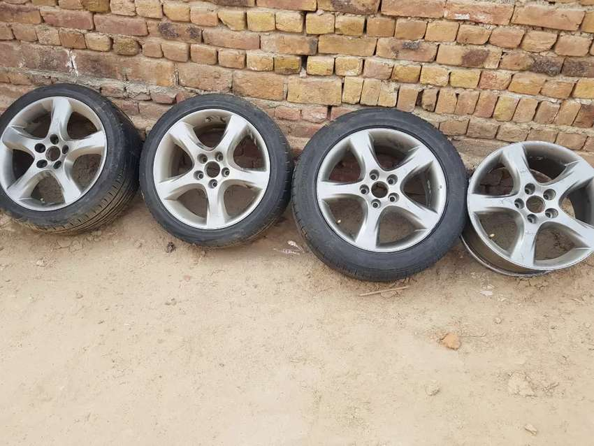 Mark x 17 inch rim with no repair no bend  well condition