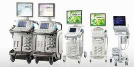 Ultrasound Mchines, Color Dopplers, Probes, ECG, Patient Monitors