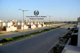 A West open block A 100 feet wide road in saima Arabian villas