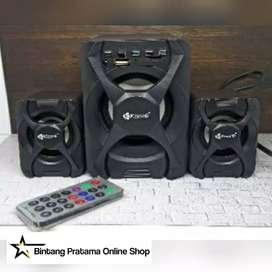 Speaker 2.1 Bluetooth Kisonli U-2500BT Gaming Speaker X-Audio