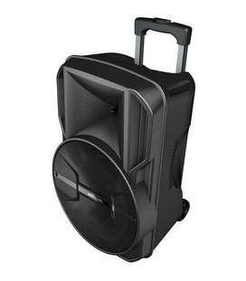 80W RMS Wireless Trolley Speaker + Tweeters / AUX / TF / USB / FM Radi