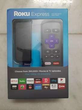 Roku Express streaming device