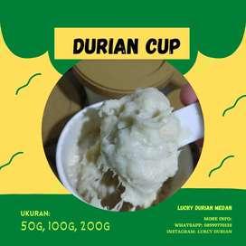 Durian Cup mini Ukuran 50gram dan 100gram