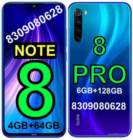 SEALED Mi》NOTE (8)=4GB//6GB》NOTE (8 PRO)=6GB》(EXTRA COST ANY MODEL)