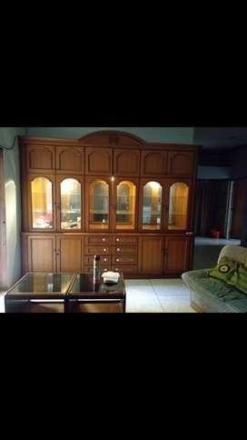 Lemari Pajangan Jati Asli (Sweet Room)