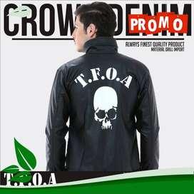 Jaket Kulit Crows Zero T.F.O.A Generation 6th