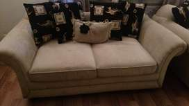 luxury  6 seater sofa with cushions for sale