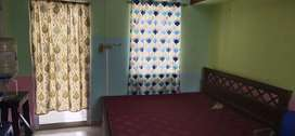 Fully furnished single room for ladies  with attached bath