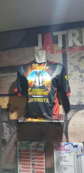 Kaos gamers Jersey printing