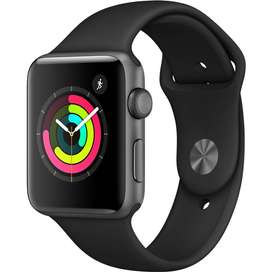 Apple-Watch-Series-3-42mm-Case-Space-Gray-Aluminum-Sport-Band-Gray