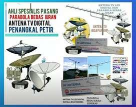 Pusat jasa instalasi murah parabola dan antena TV digital