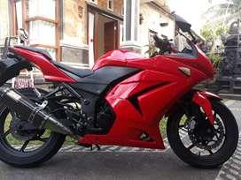 Jual ninja merah th 2011 UD Bali dharma motor