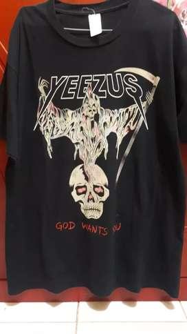 Baju band Yezzus size XL