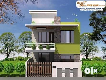 Semi duplex villas available at very decent price ! in Friends colony 0