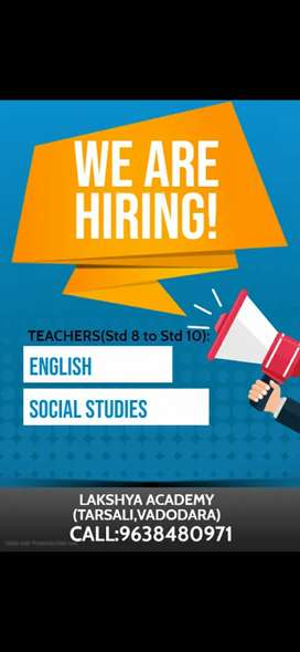 Tuition teacher hard working and ready to work for STD 8 to STD 10