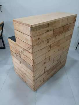 BRAND NEW CAFE HOTEL PINE CASH COUNTER IN WHOLESALE (MANUFACTURER)