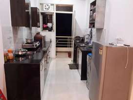 Fully furnished flt in posh colony vaishali nagar