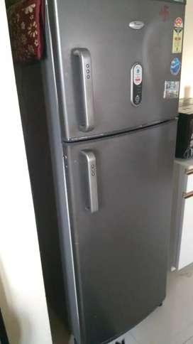 Whirlpool fridge 250 liters double door