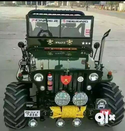 Paink motors Jeep modified company all India 0