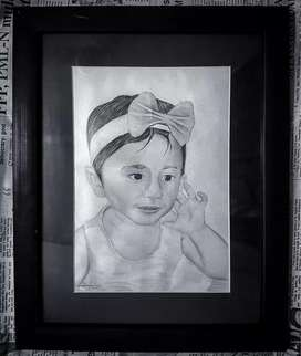 Best Birthday Gift | Pencil sketch | Customized portrait | Drawing
