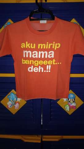 2 pcs baju anak mirip mama