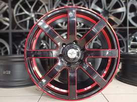 Ring 20x9.0 Pcd 6x139.7 ET15 Pajero Fortuner Hilux Triton Ford Everest