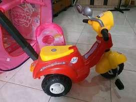 Sepeda motor maianan anak