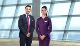 Grow your Job career with Airline company / Ground staff job highly on