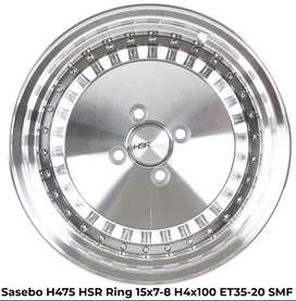 pelek SASEBO H475 T108 HSR R15X7x8 H4x100 ET35x20 SMF