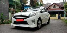 Toyota Agya 2013 Trd S putih A/T