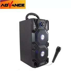 Speaker aktif bluoetoth advance
