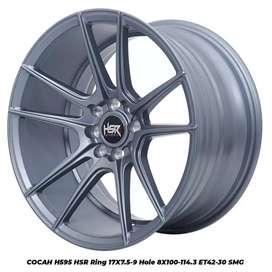 Jual velg racing HSR Concave Ring 17 Untuk mobil Etios,City,Vios,jaaz