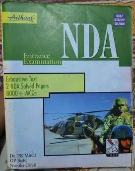 Nda Entrance Exam book by Arihant