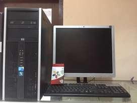 HP built up core2duo 3.0ghz dan Lcd 19 inch bergaransi 1 bulan