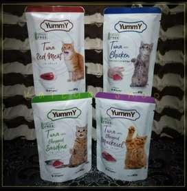 GRATIS ONGKIR WET CAT FOOD  YUMMY
