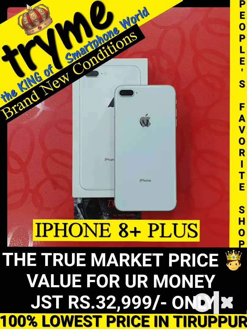 TRYME (IPHONE 8+) brand New Conditions So Dont Miss It 0