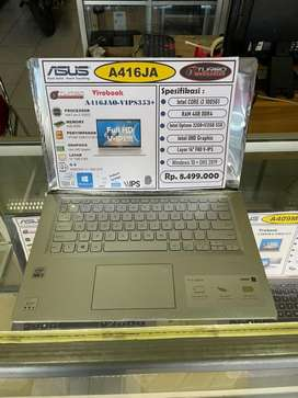 Asus A416JAO new i3 ssd 512gb