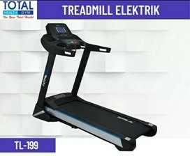 Treadmil electrik TL 199 _ ready stok alat fitnes