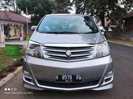 Toyota Alphard ANH10 2008 ASG Home Theatre Sound Mewah Istimewa Murah