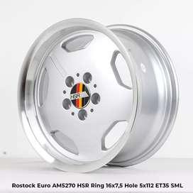 Hsr Rostock euroring 17x8/9 h5x112et35