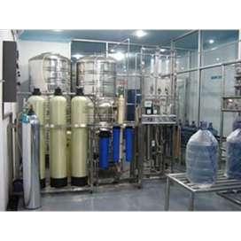 Pemasangan air minum dalam kemasan( amdk)