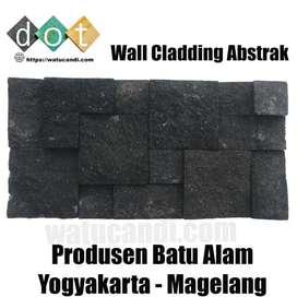 Batu candi wallcladding abstrak