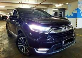 Honda All New CRV 1.5 Turbo Prestige 2017 Hitam Low KM