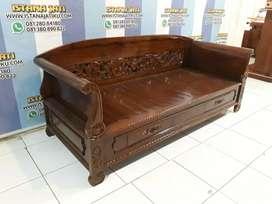 Sofa bale kayu jati jepara