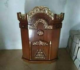 Mimbar podium masjid khutbah podium