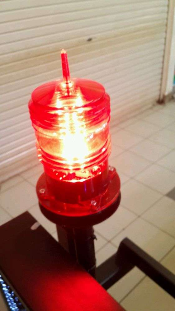 lampu led warning OBL Tower building 0