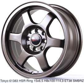 velg warna bronze TOKYO 61383 HSR R15X65 H8X