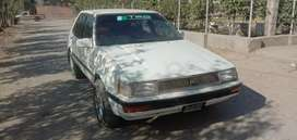 86 corolla out side color inside jenyoun