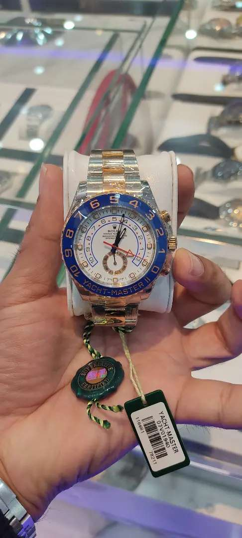 Original Rolex Yacht Master ii brand new available with complete set